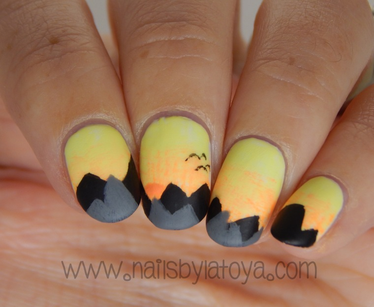 Mountain_Sunrise_Nailart