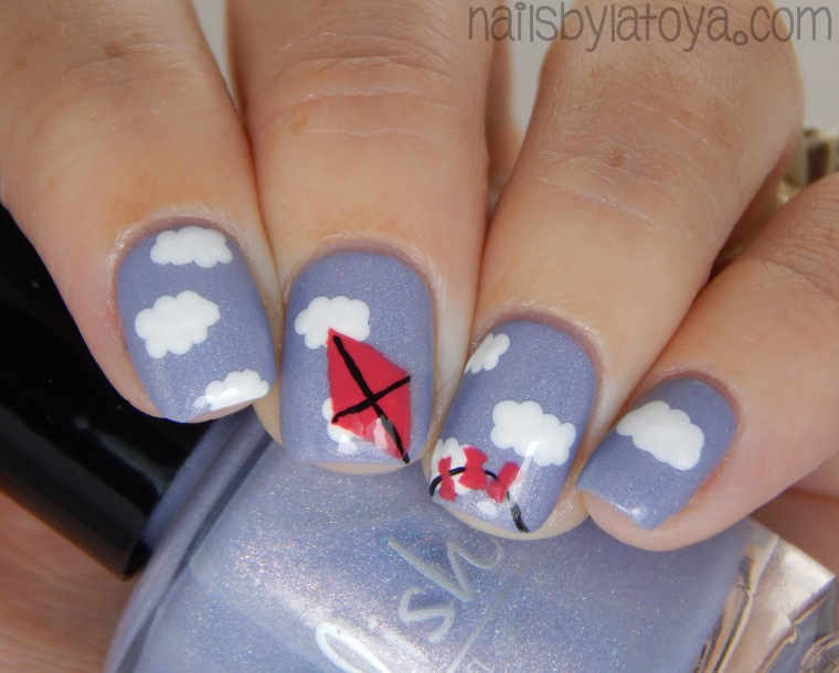 Kite_nailart