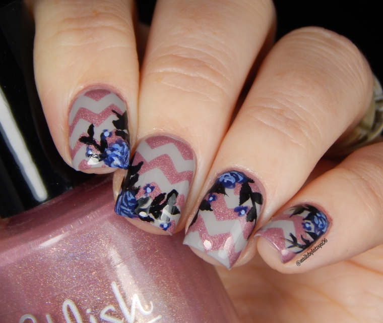 chevron_rose_mani